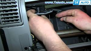 how to install replace heater ac fan speed resistor 1996 99 chevy how to install replace heater ac fan speed resistor 1996 99 chevy tahoe