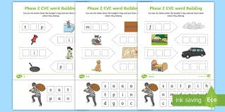 Use this set of phase 2 phonics worksheets in your classroom to practise independent writing skills of the letters and sounds phonics phase 2 sounds. Phase 2 Cvc Word Building Reception English Worksheets Pdf
