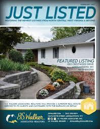 magazine js walker associates realtors feb 2017 edition of j s walker just listed magazine