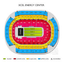 Xcel Energy Center Interactive Seating Chart Map Of Xcel Energy Center Seating Amazon De Online Shop