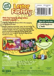 0 leap frog letter factory learn letters and their sounds lg dvd b v=