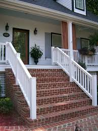 patio steps pea size x:  ideas about brick steps on pinterest front steps front door steps and entry door with sidelights