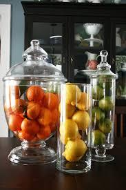 Decorative Fruit Jars