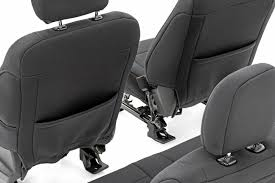 f 150 neoprene front seat cover black