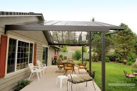 aluminum patio covers kits. Aluminum Patio Covers \u0026 Cover Kits | Ricksfencing.com - Need A Gutter System Like This