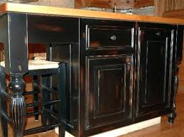 kitchens with black distressed cabinets. Black Distressed Kitchen Cabinets And White . Kitchens With L