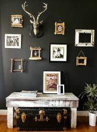 wanfarben ideas dark wall color wall design ideas of rustic coffee table