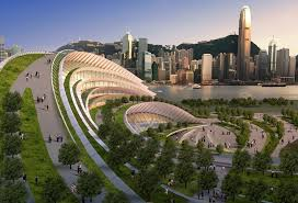 modern architecture city.  Architecture Slated To Become The Worldu0027s Largest Underground Highspeed Rail Station  When Itu0027s Completed In 2015 Express Rail Link West Kowloon Terminus Is A  Throughout Modern Architecture City R