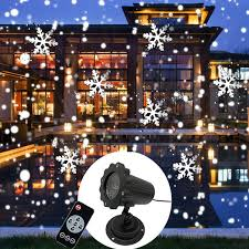 New Mini <b>Snowfall Projector</b> Christmas Lights Outdoor <b>Projector</b> ...