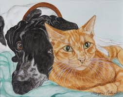 New Kensington art gallery features pet portraits by a former Saltsburg  resident | Penn State University
