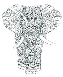 printable elephant coloring pages elephant coloring pages free printable elephant coloring pages for s easy and fun abstract elephant coloring elephant