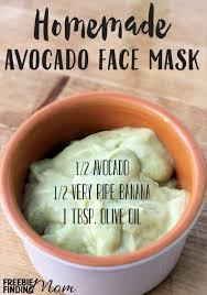 avocado face mask diy