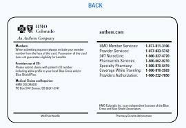 Samples Card Plan Id Health Membership