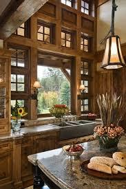 cabin kitchen design best 25 cabin kitchens ideas