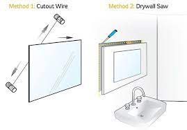 how to remove a wall mirror diy