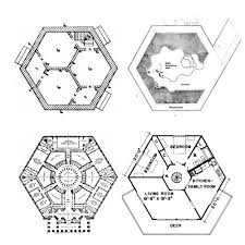 Hexagon House Plan  Straw Bale House PlansHexagon House Plans