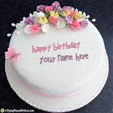Happy Birthday Cake With Name Editing
