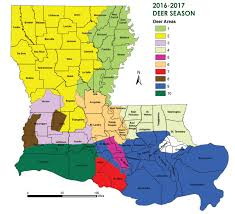 hunting louisiana department of wildlife and fisheries deer hunting schedules