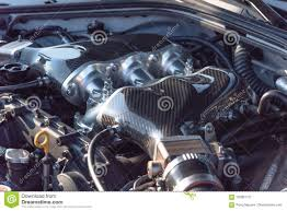 Engine Parts Design Internal Design Of Car Engine Close Up Stock Image Image