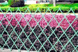 plastic expandable garden trellis garden fence