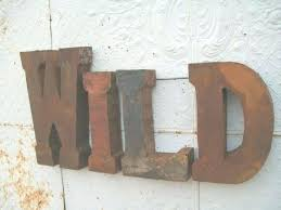 large letters for wall good large metal wall letters photo