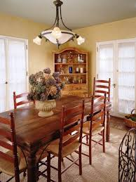 Kitchen And Dining Room Lighting Rustic Country Dining Room Vertical Shade Pendant Light Gorgeous