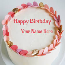 Write Your Name On Birthday Cake Wishes Pictures Generate Name On