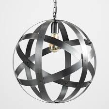 99 99 finds metal strap sphere chandelier