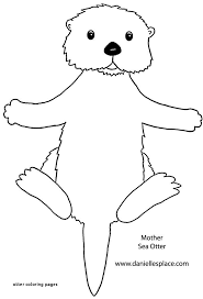 11 Best Of Sea Otter Coloring Page Coloring Page