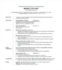 Engineering Resume Templates Amazing Engineering Resume Template Word Engineer Mechanical Cv Civil