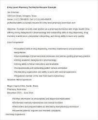 Pharmacy Technician Resume Awesome 40 Pharmacy Technician Resume Templates PDF DOC Free Premium