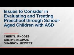 ASD Part II: Early Childhood to School Age (3 to 16) | CTAC
