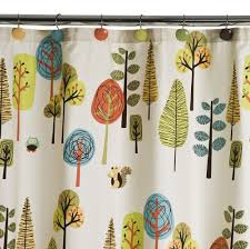 target home vista tree shower curtain multicolor cute for the bathroom my almost tween daughter and and her younger brother share