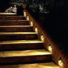 deck stair lighting ideas. Staircase Lighting Ideas Deck Stair Solar Step Lights Outdoor Steps Indoor . G