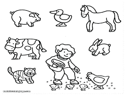 Free Farm Animal Printables Free Farm Coloring Pages Free Farm