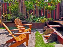 eclectic outdoor furniture. Pallet Fence Landscape Eclectic With Patio Furniture Folding Adirondack Chairs Outdoor U