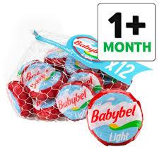 mini babybel light cheese 12 pack 240g
