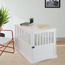 fancy dog crates furniture. #dog Crate Furniture, End Table, #decorative Dog Crates, Fancy Crates Furniture A