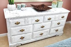 ideas for painted furniture. White Chalk Paint Furniture Extraordinary Ideas Idea Painted Distressed Dresser For U