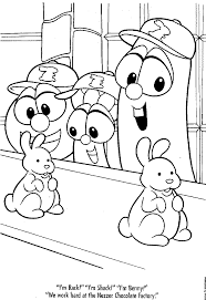 Small Picture Online Veggie Tales Coloring Pages 51 On Coloring Pages for Kids