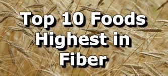 Top 10 Foods Highest In Fiber
