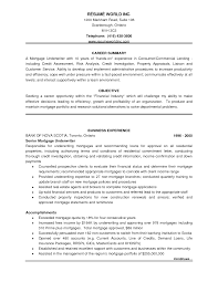 ... Sample Resume Insurance Underwriter Position Unique Underwriting Resume  Examples ...