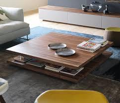 luxury modern wood coffee table team