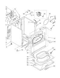 Diagram kenmore dryer wiring diagram manual