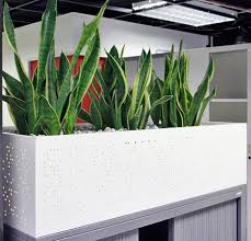 office planter. Steel Planter Unit For Tambour Tops Office