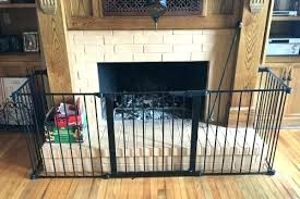 baby fireplace gates baby gates fireplace baby safe homes installed a hearth gate baby safe homes