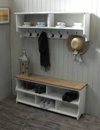 Shoe Bench With Coat Rack