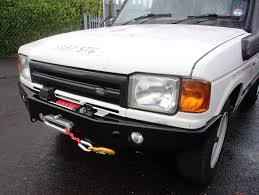 Discovery 1 Lights Discovery 1 Winch Bumper With Fog Lights