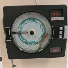 Partlow Mrc 7000 Circular Chart Recorder Partlow Mrc7000 Circular Chart Recorder 711000100021 Vaisala Hmt100 Transmitter