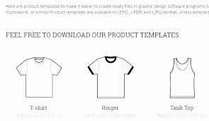 Shirt Order Form Doc Free Event Ticket Templates